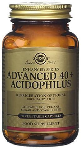 Solgar Advanced 40 Plus Acidophilus Vegetable Capsules - Pack of 60