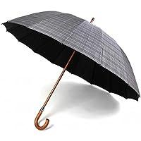 Paraguas Vogue de Hombre de 16 Varillas con protección Solar, antiviento y Acabado teflón.