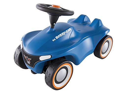 BIG Spielwarenfabrik 800056241 - BIG-Bobby-Car Neo Blau Rutschfahrzeug, Rutscherfahrzeug, Rutschauto, ab 1 Jahr