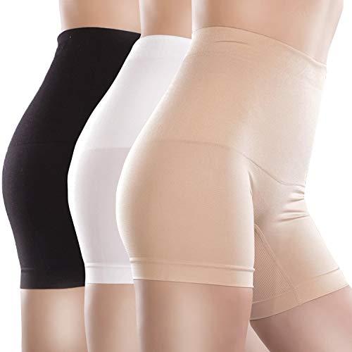 Libella 3er Pack Damen Miederpants mit Bauch-Weg-Effekt 3605 Schwarz/Haut/Weiss Gr. M/L