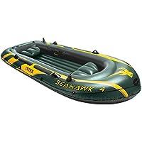 Intex - Barca hinchable Intex seahawk 4 - 351x145x48 cm (máx.400 kg) - 68350NP