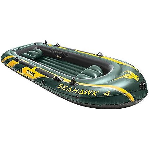 Intex 68350 Seahawk 4 Canotto Gonfiabile, 351 x 145 x 48 cm