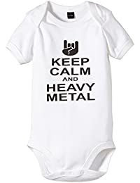 Touchlines Baby Body Keep Calm and Heavy Metal