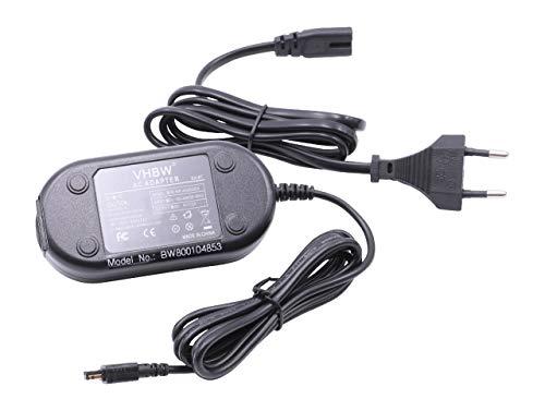 vhbw 220V Netzteil Ladegerät Ladekabel 10W (5V/2.0A) für Kamera Nikon CoolPix L100, L110, L120, L810, L820 u.a. wie EH-67.
