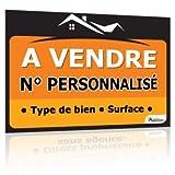 immo-panneaux.com Panneau A Vendre 80 x 60 cm - Tous textes Personnalisables...