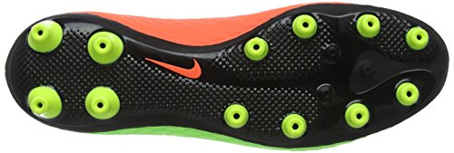 Nike Hypervenom Phelon Iii Ag-Pro, Chaussures de Football Homme Vert (Electric Green/black-hyper Orange-volt)