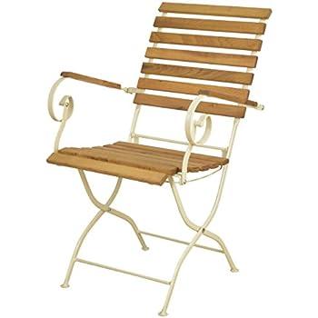 Butlers Parklife Gartenstuhl aus Holz 47x54x88 cm - Stuhl
