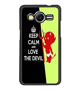 PrintDhaba Quote D-5635 Back Case Cover for SAMSUNG GALAXY CORE 2 G355H (Multi-Coloured)