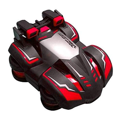 Macchinina elettrica da corsa Stunt Drift per auto, con telecomando, 2,4 G, per bambini e ragazzi rosso