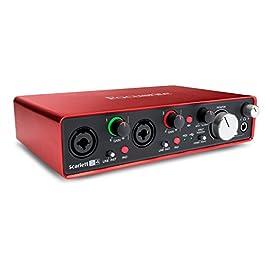 Focusrite Scarlett 18i8 (2nd Gen) Interfaccia Audio USB con Pro Tools | Primo, MOSC0018
