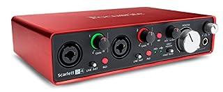 Focusrite Scarlett 2I42ème Génération Interface audionumérique USB, 2 entrées/4 sorties (B01E6T50LY) | Amazon price tracker / tracking, Amazon price history charts, Amazon price watches, Amazon price drop alerts