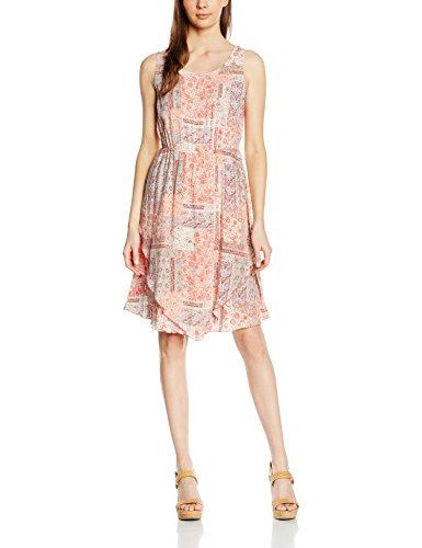 Tom Tailor 2 Layer Summer Dress, Robe Femme Ecru (whisper white 8210)