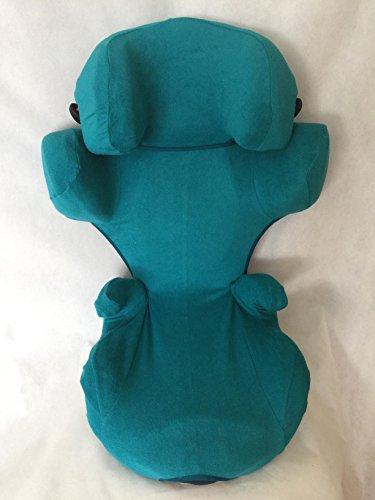 Preisvergleich Produktbild Sommerbezug Schonbezug Frottee für Kiddy Cruiserfix 3 Frottee 100% Baumwolle petrol