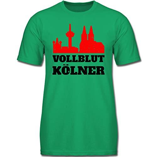 Städte & Länder Kind - Vollblut Kölner - 164 (14-15 Jahre) - Grün - F130K - Jungen Kinder ()