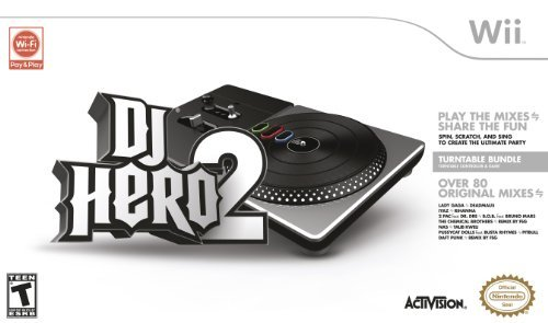 DJ Hero 2 Turntable Bundle by Activision