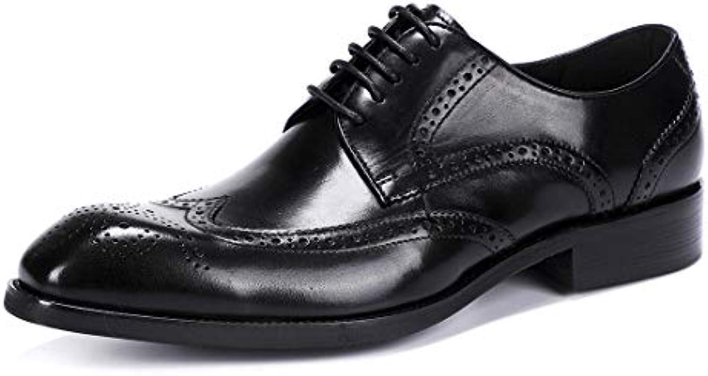 MERRYHE Scarpe Classiche da Uomo per Uomo Scarpe Derby Classiche per Scarpe da Sposa Scarpe da Lavoro Vintage...   Moda    Maschio/Ragazze Scarpa
