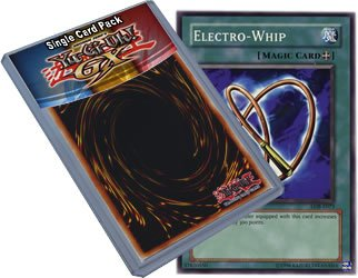 Yu Gi Oh : LOB-E073 Unlimited Edition Electro-Whip Common Card