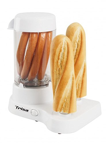 Trisa Electronics 7398.7012000000004 Hot Dog-Maschinen, 350 W, weiß