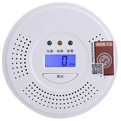 AUNMAS Kohlenmonoxid-Alarm-Rauch-Kohlenmonoxid-Detektor-tragbares Feueralarm-Sensor-Werkzeug für Hauptküchen-Sicherheits-Verbesserung Rauch-detektor