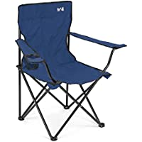 Trail Outdoor Leisure Folding Camping Chair, Lightweight Portable Foldable Seat, Outdoor, Fishing, Festival, Beach, Travel Carry Bag …