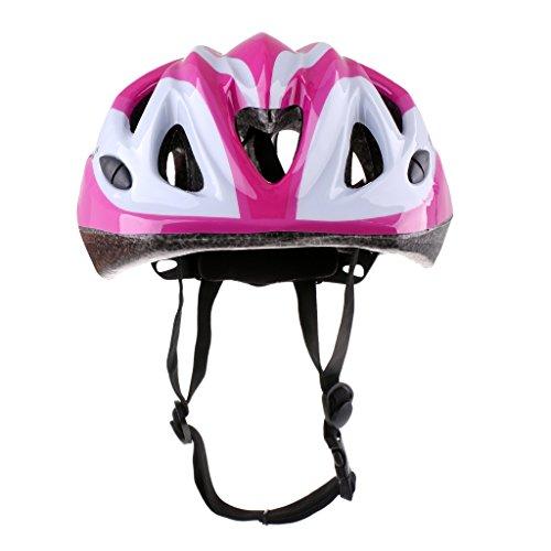 Homyl Kinder Fahrradhelm Schutzhelm für Rollschuh Skateboard Roller Fahrrad Radfahren - Rosa