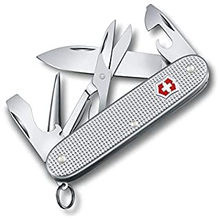 Victorinox V08231.26 Couteau de Poche Pioneer X Mixte Adulte, Argent, 93 mm
