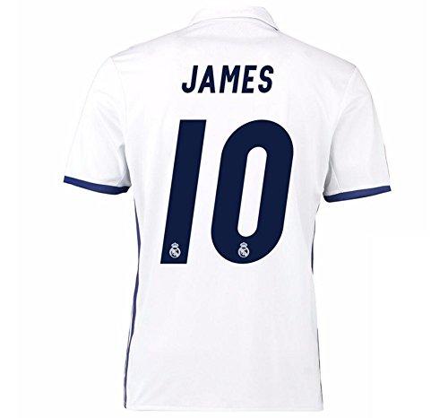 74389d0a9 CBUJSS-Sports 2016 2017 Real Madrid CF 10 James Rodriguez Home Jersey de  Football de