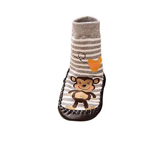 Covermason Kleinkind Baby Anti-Rutsch Sock Schuhe Stiefel (11 (0-6 Monate), ()