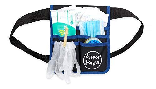 Trend Mama Geschenke für werdende Väter-Super Papa Toolgürtel Windeltasche Windelwechsler Geschenkset - im Geschenkkarton -Geschenk zur Geburt für Papa