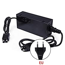 ‏‪Xbox one Power Supply Brick, Womdee [2019 New Upgraded ] AC Adapter with Power Cord Cable Replacement Charger for Xbox one Console with 100-240V Voltage‬‏