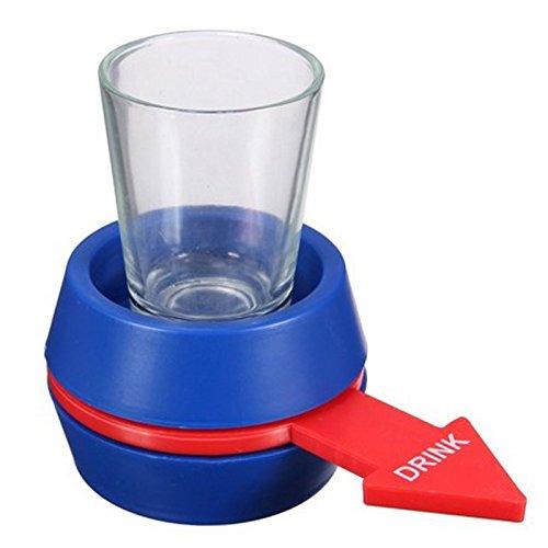 MingXiao Liquor Shot Spinning Shot Glas Party Bankett Festival Getränk Barware Spielzeug Barware Gläser