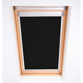 Amazon.de: KINLO Dachfensterrollo 38 x 75cm Schwarz Thermo