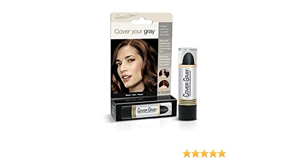 Cover Your Gray Hair Color Stick (6er Pack) Black (Haarfarbe ...
