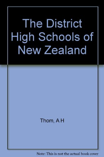 The District High Schools of New Zealand