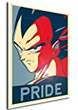 "Poster Dragon Ball ""Propaganda"" Vegeta - A3 (42x30 cm)"