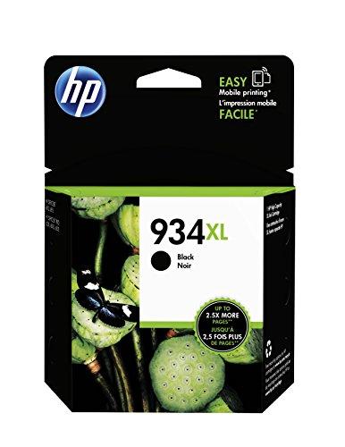 HP 934XL (C2P23AE) Schwarz Original Druckerpatrone mit hoher Reichweite für HP Officejet Pro (High-yield-tinte)