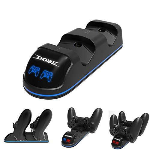 Spielzubehör,TwoCC Dual USB Controller Ladegerät Schnell Aufladen Station Anzeige für PS4/Ps4 Pro/Slim -