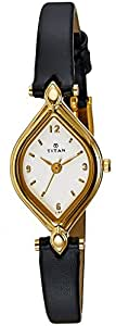 Titan Karishma Analog White Dial Women's Watch - NE9639YL04