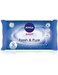 Nivea Baby Fresh und Pure Feuchttücher, 63 Stück