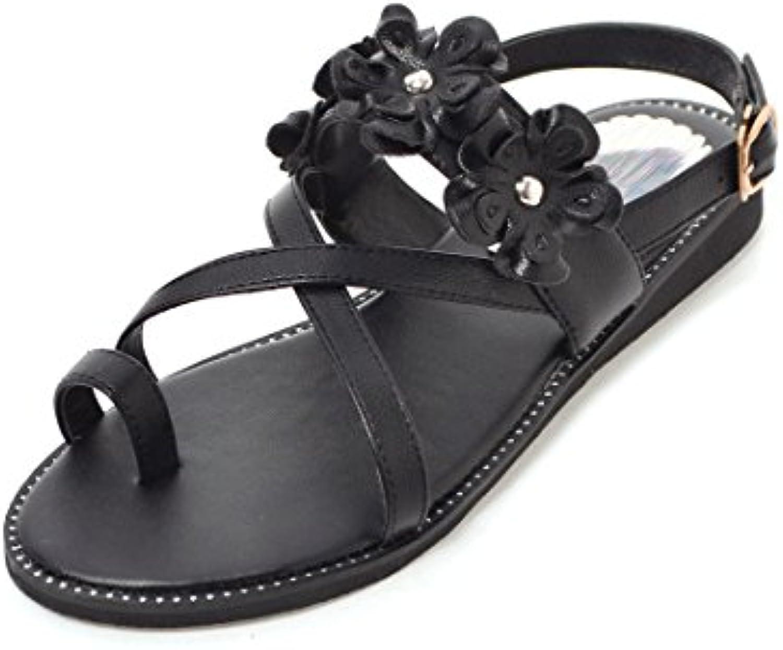 les chaussures de confort microfibre Été automne nouveauté sandale sandale sandale chaussures sandales de chaussures croûton stiletto...b07cz7nx7z parent 18c639