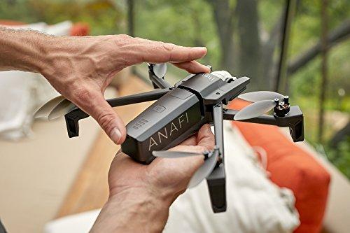 Parrot Anafi Base Drone con Videocamera HDR 4K con Gimbal con Inclinazione a 180°, Nero - 22