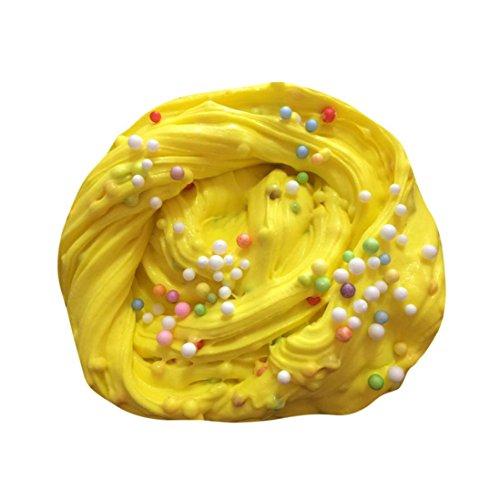 Sankidv Schleim Schlamm Fluffy Floam Slime Duft Stress Relief Erwachsene Junge Leute Spielzeug Schlamm Spielzeug Mit Bunt Kleiner Ball - Kinder, Düfte, Zahnpasta