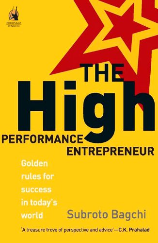 The High Performance Entrepreneur By Subroto Bagchi Pdf Download
