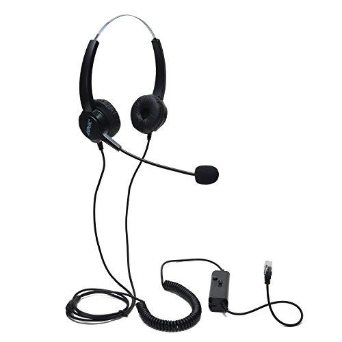 AGPtek Telefono con cuffie RJ9 per centralino telefonico o ufficio de59e133dad2