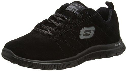 Skechers Flex AppealCasual Way, Sneakers basses femme noir (BBK)