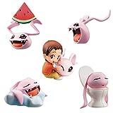 Digimon Adventure Pack de 5 Figuras Coro-Colle! 6 cm