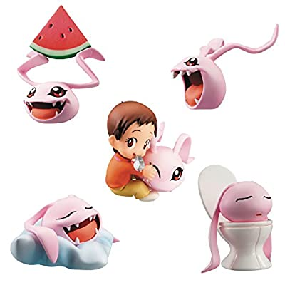 Digimon Adventure Pack de 5 Figuras Coro-Colle! 6 cm