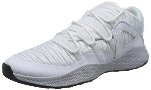 Nike Herren Jordan Formula 23 Low Gymnastikschuhe, Weiß (White/White-Wolf Grey-Black), 44 EU (Schuhe Für Männer-nike Air Jordan)