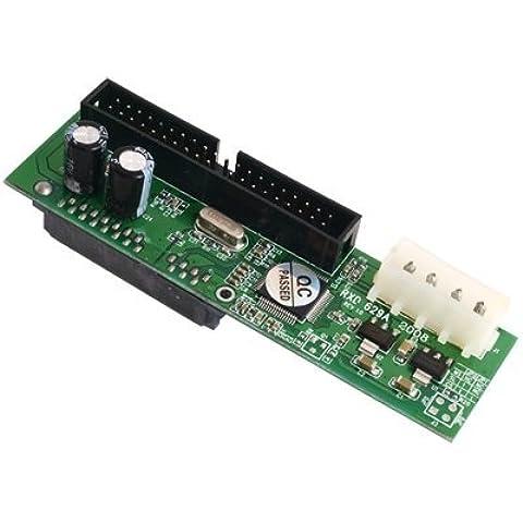 TOOGOO(R) Adaptador Convertidor IDE ATA a SATA CD/HDD/DVD/CDROM