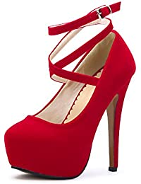 Chaussures Rouges Sodial (r) Femmes TbaQZz